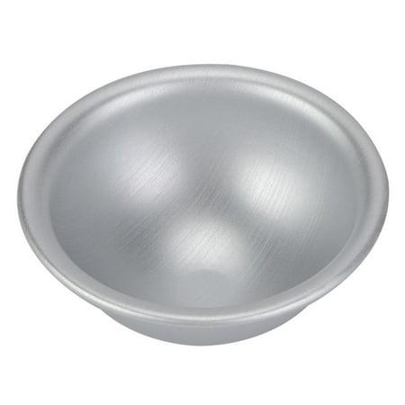 WALFRONT Demi-cercle moule à cake demi-boule en alliage d'aluminium pan, 10cm demi-cercle moule en aluminium hémisphère mousseline gâteau gâteau gâteau dessert dessert pudding cuisson mo - image 9 de 12
