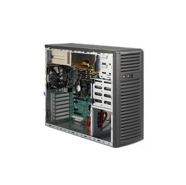 Super Micro SuperChasis System Cabient - Mid-tower - Black
