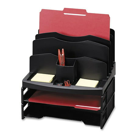 rubbermaid desk ip organizer en desktop tray