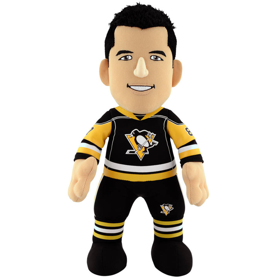 "Pittsburgh Penguins Sidney Crosby Gen 2 10"" Plush Figure"