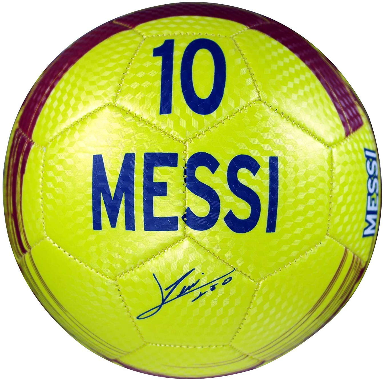 Messi 10 Neon Green Size 2 F.C Barcelona Official Licensed Soccer Ball