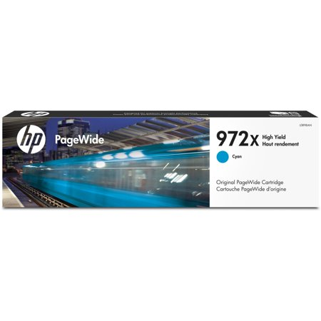 HP 972X Hi YD CYAN PW cart
