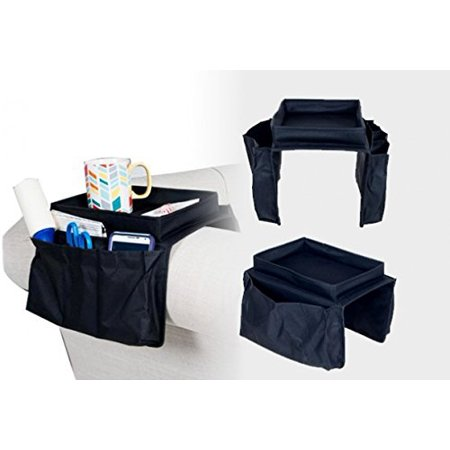 Smart Armrest Organizer 6 Pocket Organizer Adjustable to Fit Couch or Chair ArmRest - Optimizers Six Pocket Organizer