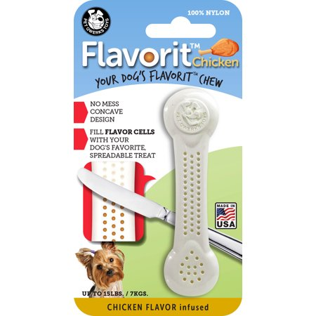 Flavorit? Nylon Bone Chicken Flavor Infused Small for $<!---->