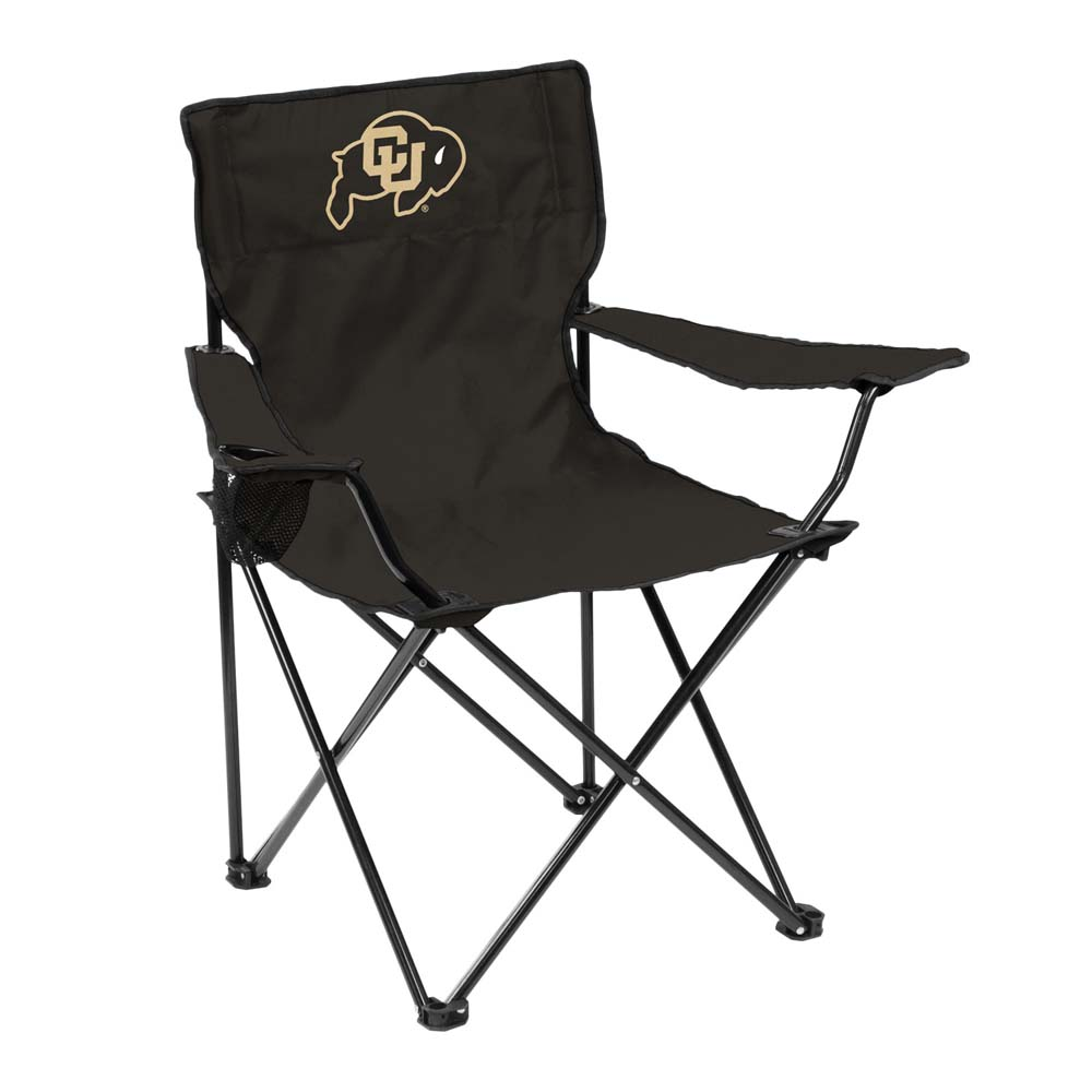Colorado Adult Quad Folding Logo Chair