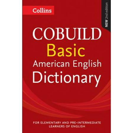 Collins Cobuild Basic American English Dictionary  Paperback