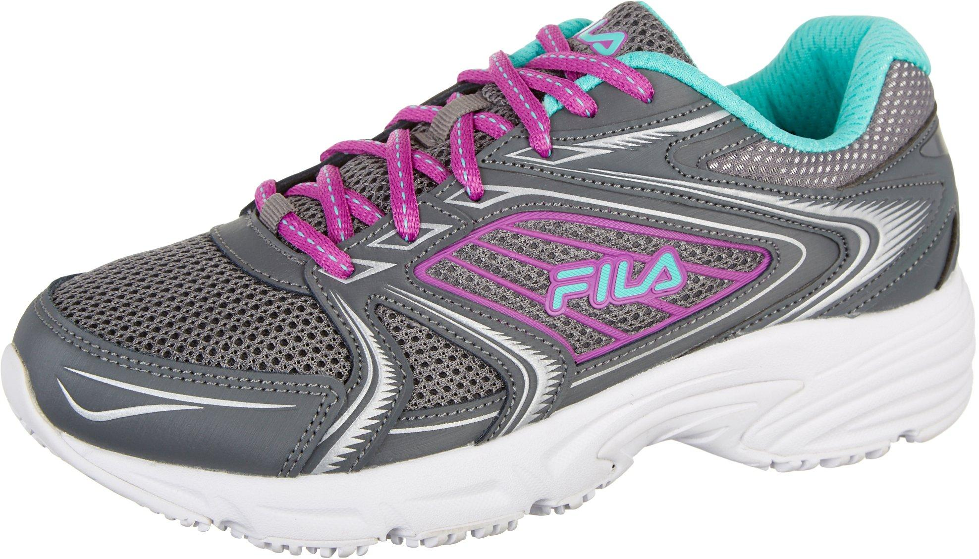 Fila Fila Womens Memory Pacesetter Slip Resistant Athletic Shoes