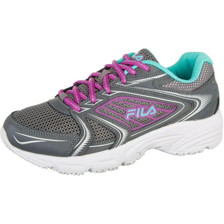 Fila Fila Womens Memory Pacesetter Slip Resistant Athletic