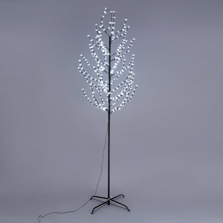 EXCELVAN 2.2M Pre-lit Cherry Blossom LED Tree Light Decorative Christmas Branch Light-up