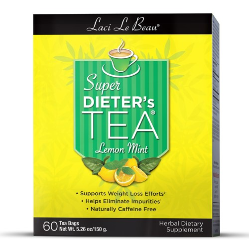 Laci Le Beau Super Dieter's Tea Lemon Mint 60 Tea Bags