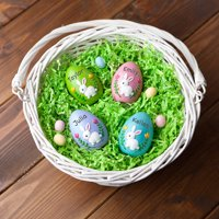 Personalized Resin Easter Egg