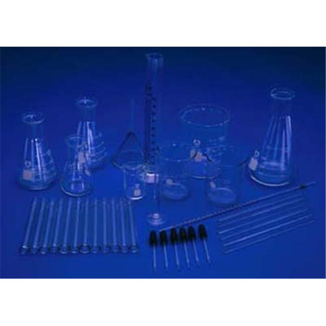 Ginsberg Scientific 7-2000-36 Glassware Kit - 36 Pieces