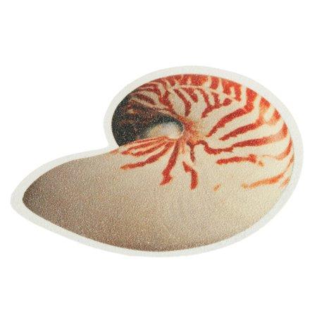 6pcs/set Bathtub Non Slip Sticker Sea Fish Conch Pattern Anti-skid Safety Bath Tub Shower Bathroom Decor - image 1 of 9