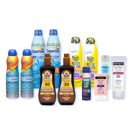Major Sunscreen Savings Collection