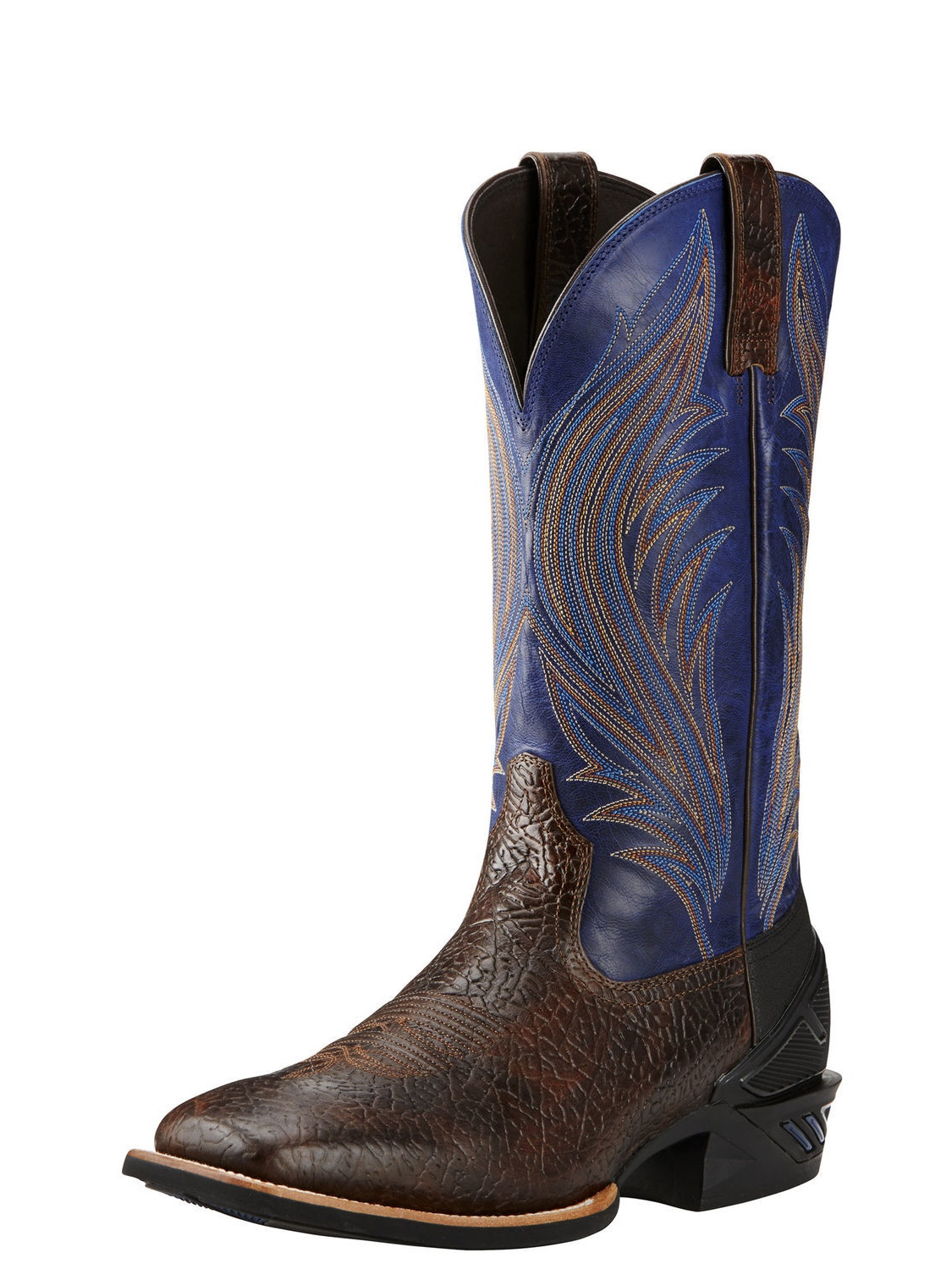 Ariat Catalyst Prime 2E Square Toe Leather Western Boot by Ariat