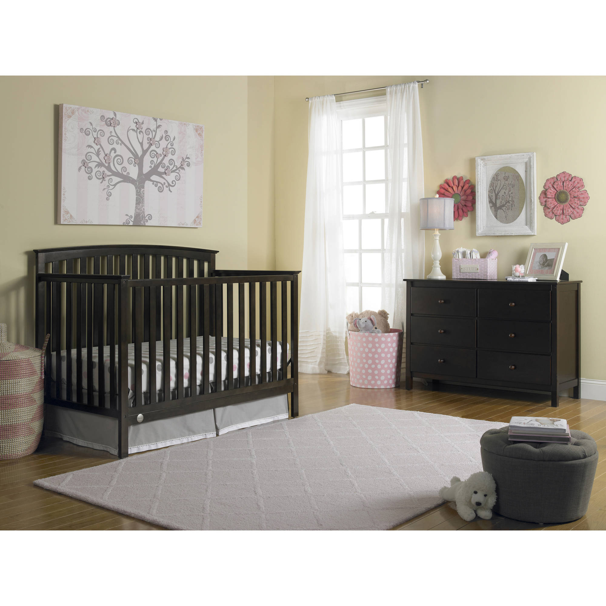 Crib price range - Fisher Price Jesse 4 In 1 Convertible Crib Choose Your Finish Walmart Com