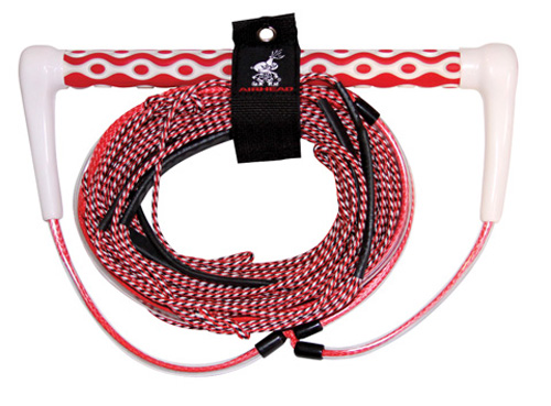 AHWR-6 Airhead Dyna Core Wakeboard Rope, Red by Kwik Tek