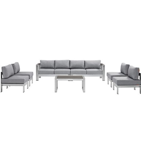 Modway Patio Sectional Sofa Multiple