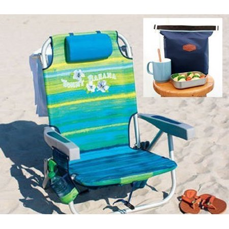 Tommy Bahama 2016 Backpack Cooler Beach Chair Green