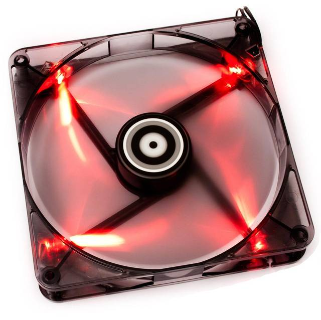 BitFenix Spectre 120mm Red LED Case Fan BFF-BLF-12025R-RP