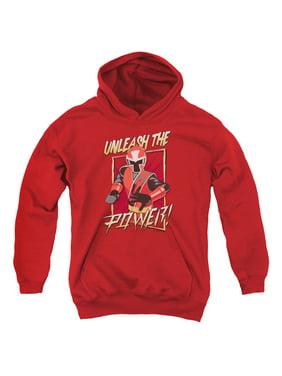 Power Rangers - Unleash - Youth Hooded Sweatshirt - Large