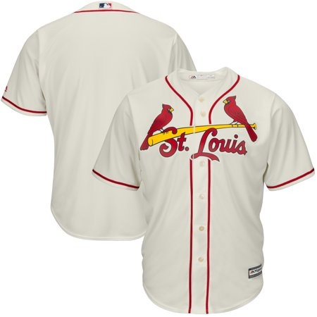 St. Louis Cardinals Majestic Big & Tall Cool Base Team Jersey - Cream