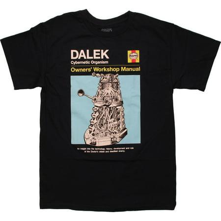 Doctor Who Dalek Haynes Manual T-Shirt