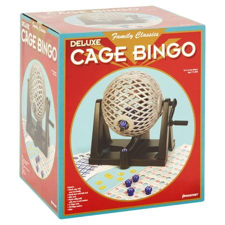 Pressman - Bingo: Deluxe Cage - Fitness Bingo