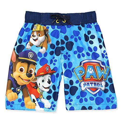Nickelodeon Paw Patrol Swim Trunks Shorts Boy Size 5T