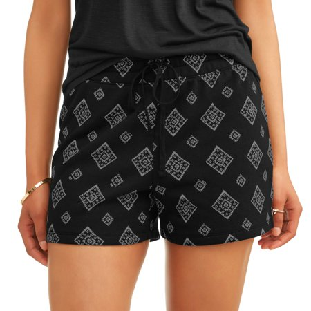 Time And Tru Time And True Womens Knit Shorts With Drawstring