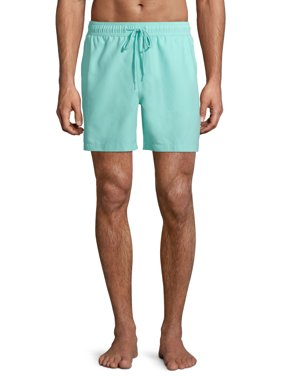"George Men's and Big Men's 6"" Basic Swim Short, up to Size 5xl"