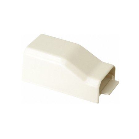 Wiremold Nm2010A Non-Metallic End Feed Fitting Use W/ Non Meticallic Cable Raceway, Ivory