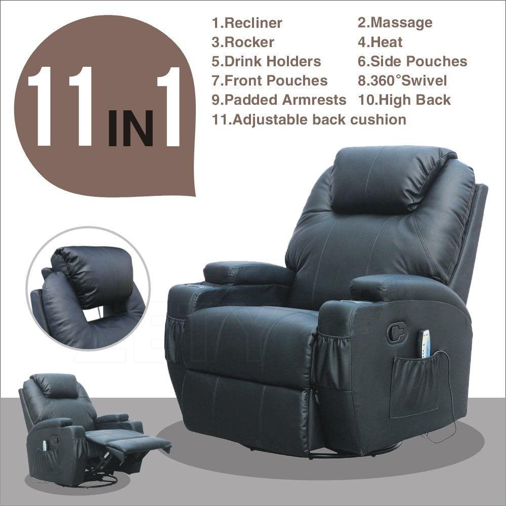 Strange Msg Massage Recliner Leather Sofa Chair Frankydiablos Diy Chair Ideas Frankydiabloscom