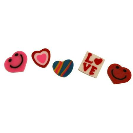 Mini Valentine's Erasers