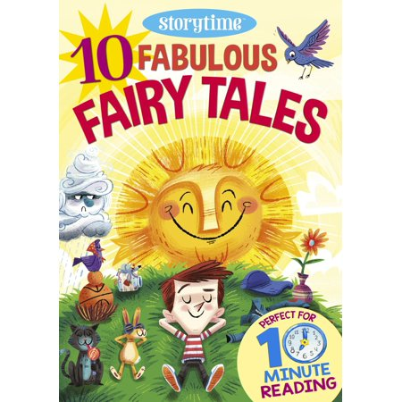 10 Fabulous Fairy Tales for 4-8 Year Olds (Perfect for Bedtime & Independent Reading) (Series: Read together for 10 minutes a day) - (Best Reads For 10 Year Olds)