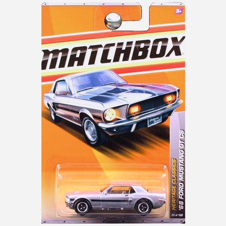 2011 Heritage Classic Series '68 1968 Ford Mustang GT/CS California Special Silver, '68 FORD MUSTANG GT CS * SILVER * Heritage Classics Series (#12 of 13) MATCHBOX.., By (2016 Mustang Gt California Special For Sale)