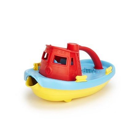 Green Toys Tug Boat Bath Toy, Blue Top by Green Toys