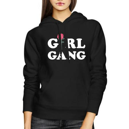 Girl Gang Hoodie Trendy Back To School Hooded Pullover Fleece