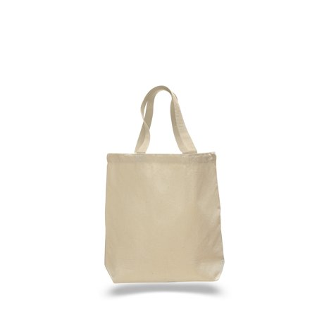 8a2c918334c BagzDepot - Heavy Canvas Tote Bag With Color Web Handles and Bottom ...