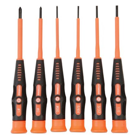 Precision Electrical Screwdriver Set 6 Pc ()