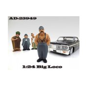 """Big Loco Homies"""" Figure For 1:24 Scale Diecast Model Cars by American Diorama"""""""