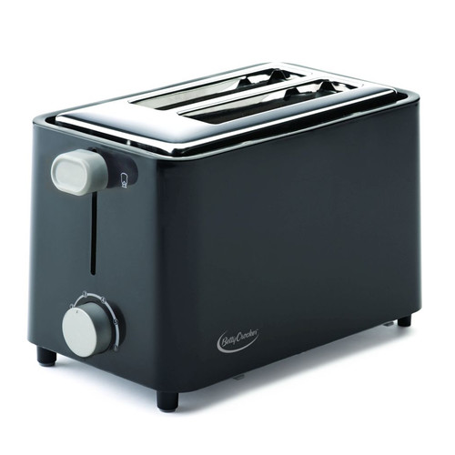 Betty Crocker 2-Slice Toaster, Black by BETTY CROCKER