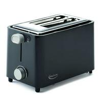 Betty Crocker 2-Slice Toaster, Black