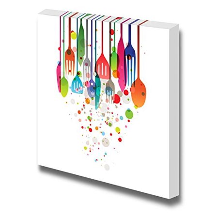 Canvas Prints Wall Art   Beautiful Vector Illustration With Multi Colored Ute