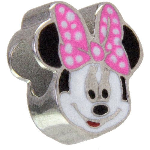 Connections from Hallmark Stainless Steel Disney Minnie Mouse Charm