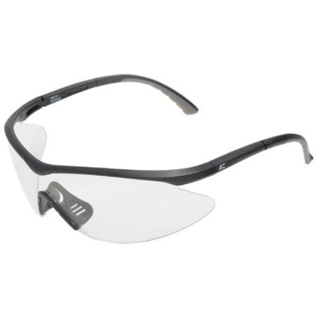 DB111 Banraj Safety Glasses, Black with Clear Lens, ANSI Z87.1 +2010 compliant and Ballistic MIL_PRF 31013 3.5.1.1 compliant..., By Edge Eyewear Ship from US (Eye Wear Shop)