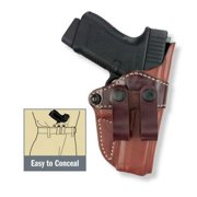 Gould & Goodrich 810 Inside Pants Holster, Brown, Left Hand - 4.75-5in BBL 1911-