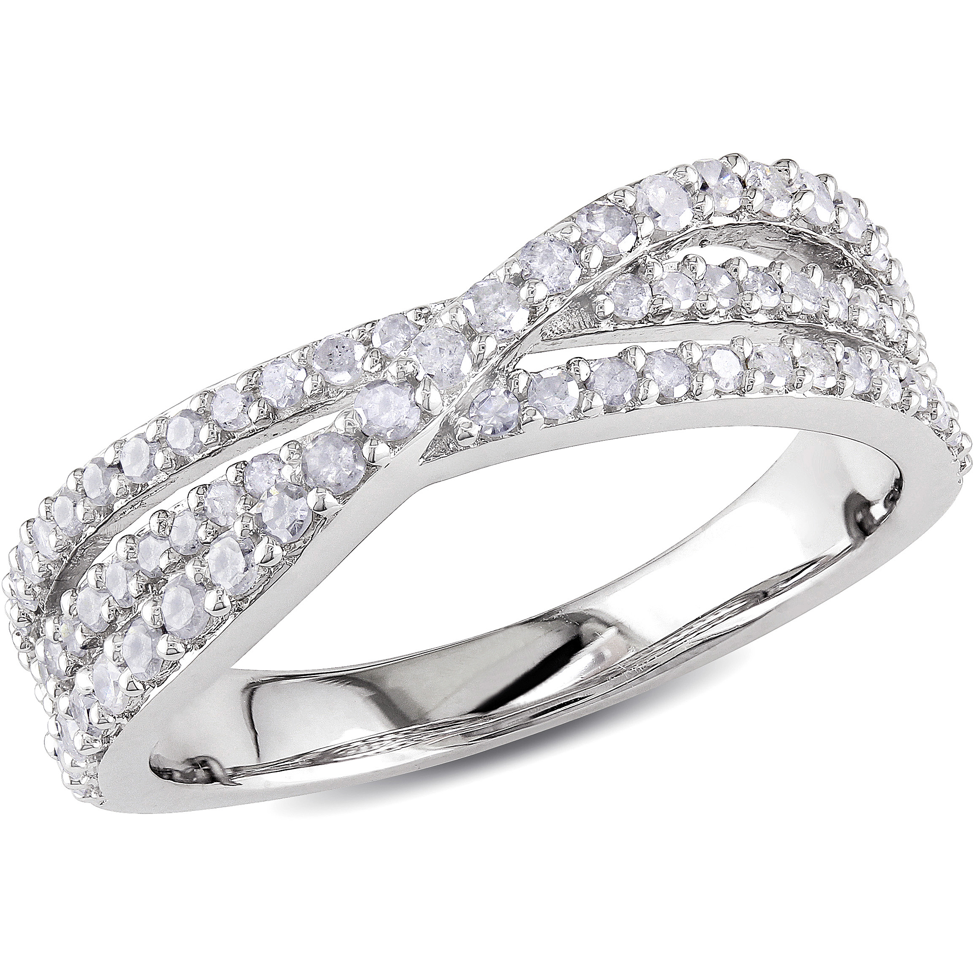 Miabella 1/2 Carat T.w. Diamond Fashion