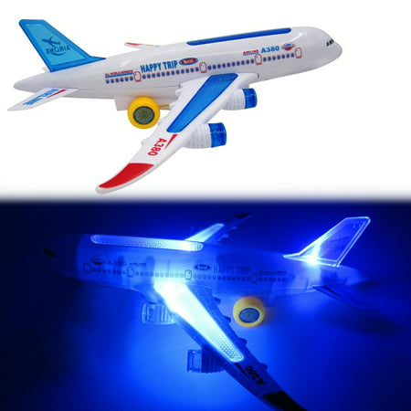 VENSE aircraft carrier in toys Multicolor Flash Plane Toy Sound Aircraft Music Lighting Children Kids Toys - image 3 de 8