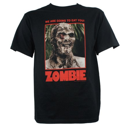 Lucio Fulci's Zombie Horror Movie Poster T-Shirt](Zombie Clothes For Kids)